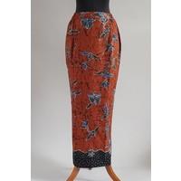 Kebaya klassiek koningsblauw met bijpassende sarong