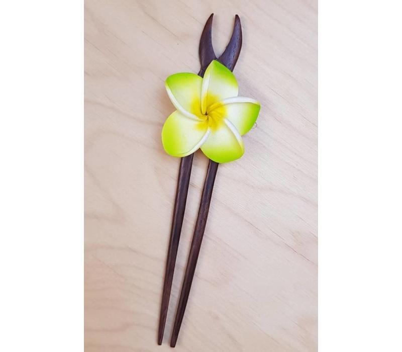 Haarklem frangipani licht groen