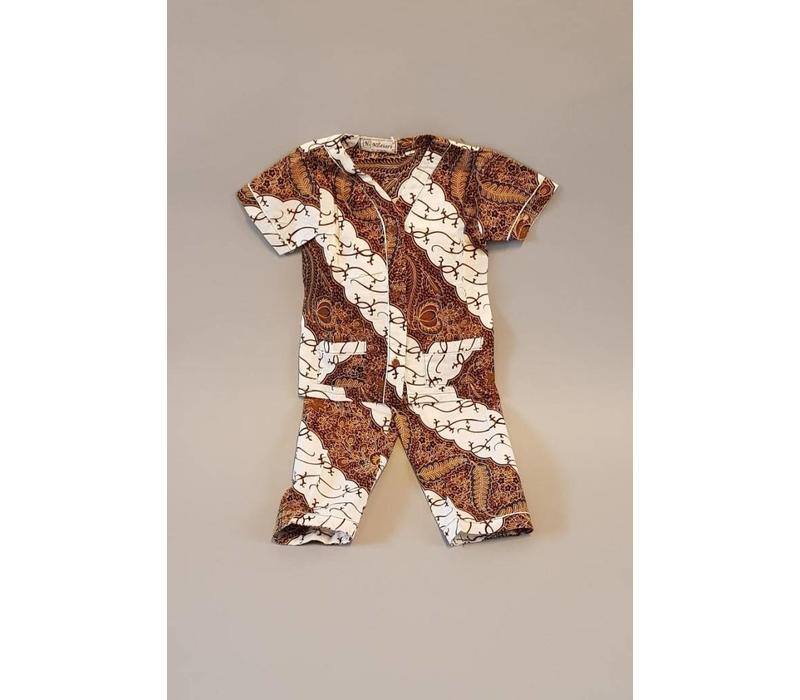 Setje kinder batik pijama