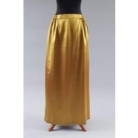 Bruids kebaya olijf goud met bijpassende rok satijn
