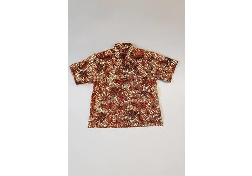 Kinder batik overhemd korte mouw 1012-5