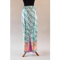 Kebaya glamour licht turquoise met bijpassende sarong