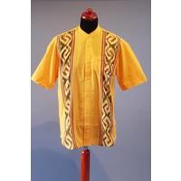 Etnische hemd korte mouw 2202-11