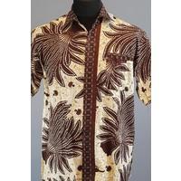 Batik overhemd korte mouw 0803-02