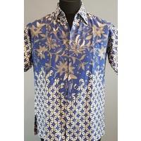 Batik overhemd korte mouw 0803-03
