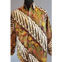 Batik overhemd lange mouw 0803-04