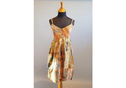 Zomer batik jurk 01