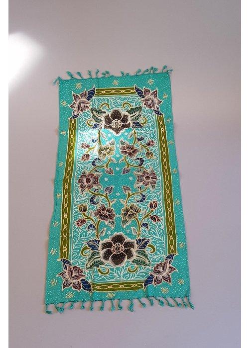 Batik loper turquoise