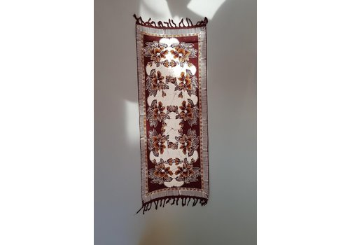 Batik loper bruin