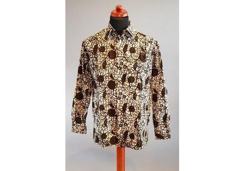 Batik overhemd lange mouw 2103-03
