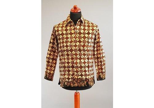 Batik overhemd lange mouw 2103-04