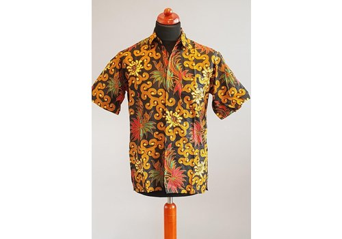 Batik overhemd korte mouw 2103-05