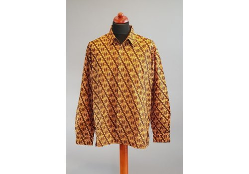 Batik overhemd lange mouw 2103-06