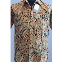 Batik overhemd korte mouw 2202-08