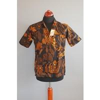 Batik overhemd korte mouw 0604-01