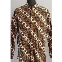 Batik overhemd lange mouw 0706-04