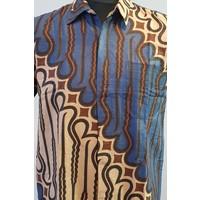 Batik overhemd korte mouw 2806-02