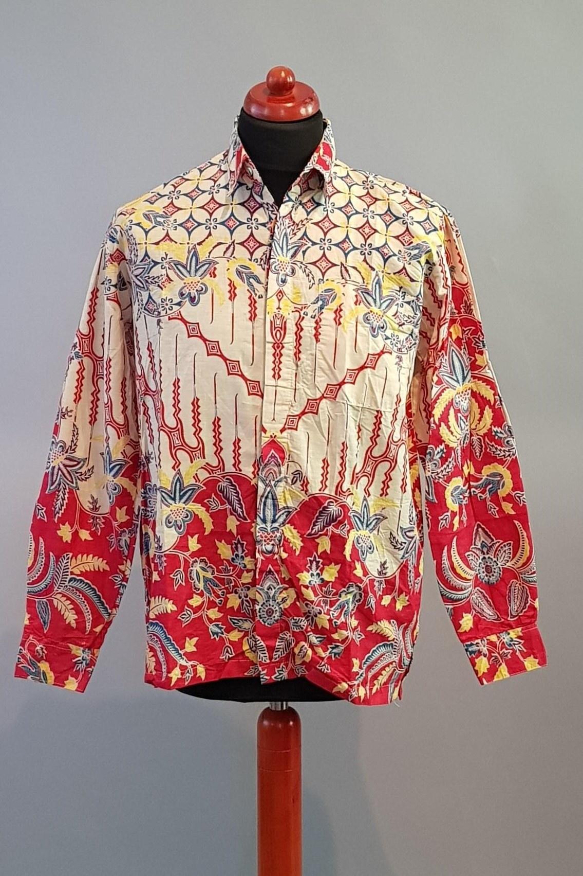 2806 Batik Korte 04 Mouw Overhemd NwXkO0P8n