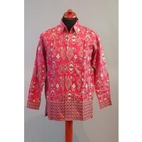 Batik overhemd korte mouw 2806-05