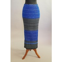 Kebaya  kutubaru midnight blauw met bijpassende sarong