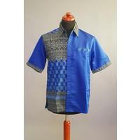 Batik overhemd korte mouw 0307-01