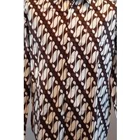 Batik overhemd langemouw 0907-01