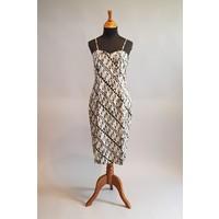 Batik jurk elegant