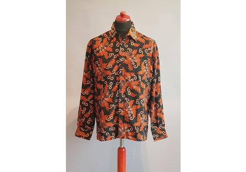 Batik overhemd lange mouw 2009-01