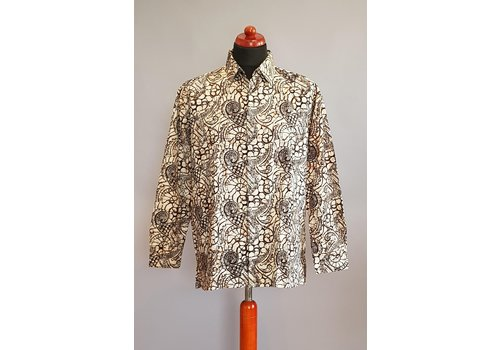 Batik overhemd langemouw 2009-02