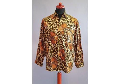 Batik overhemd langemouw 2009-04