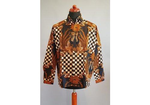 Batik overhemd langemouw 2009-05