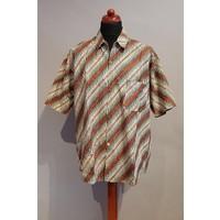 Batik overhemd korte mouw 0612-04