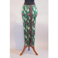 Kebaya elegant zeegroen met bijpassende sarong plissé