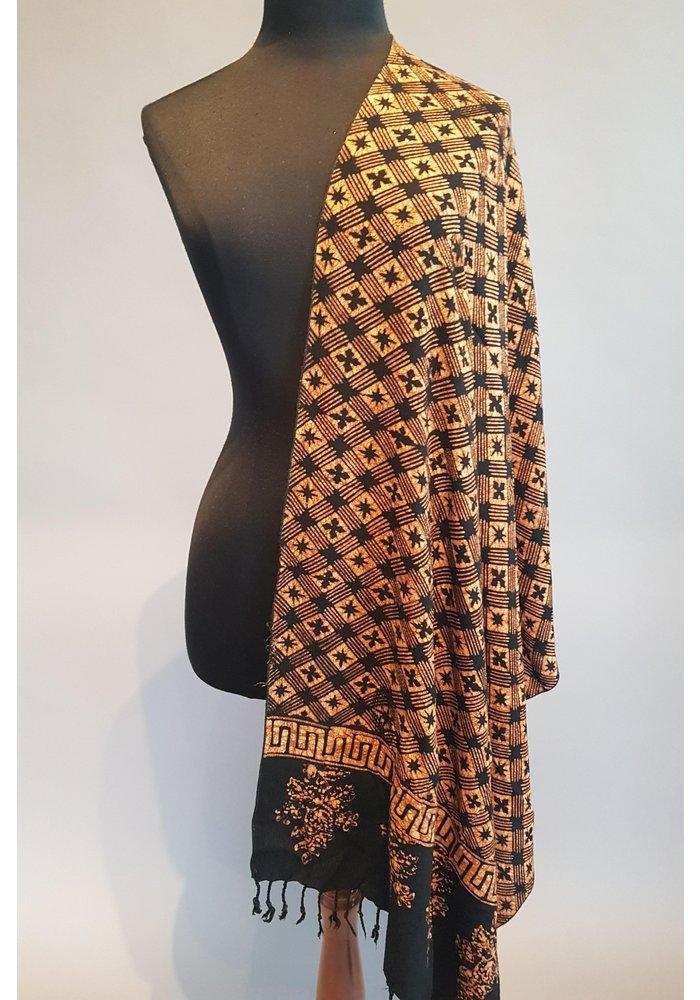 Batik sjaal (selendang) 2912-01