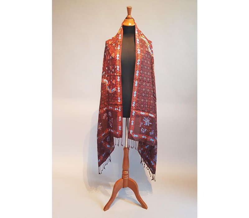 Batik sjaal (selendang) 2912-04