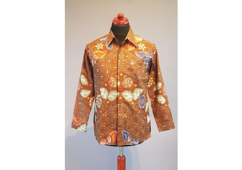 Batik overhemd lange mouw 0401-11