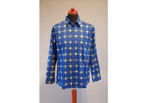 Batik overhemd lange mouw 0401-12