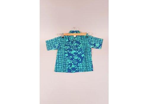 Kinder batik overhemd korte mouw 0901-09
