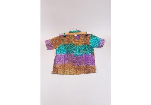 Kinder batik overhemd korte mouw 0901-10