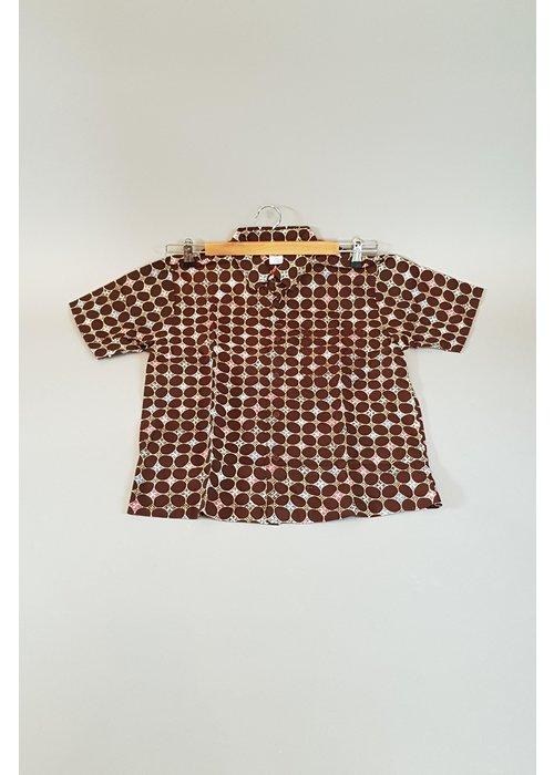 Kinder batik overhemd korte mouw 0901-12