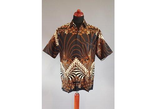 Batik overhemd korte mouw 0901-02