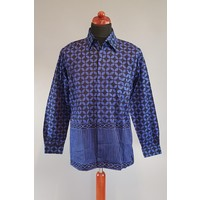 Batik overhemd korte mouw 0901-05