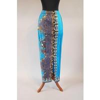 Kebaya casual turquoise met bijpassende sarong