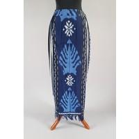 Kebaya glamour navy blauw met bijpassende sarong