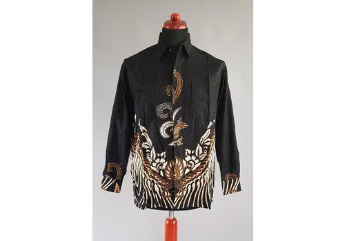 Batik overhemd lange mouw 0302-02
