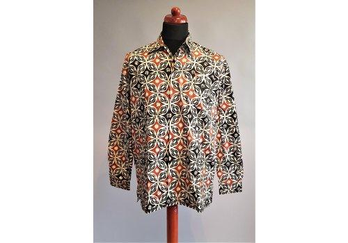 Batik overhemd lange mouw 1903-05