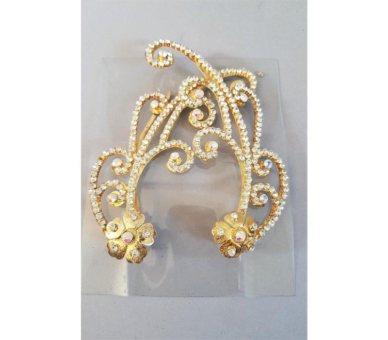 Setje haar accessoires goud