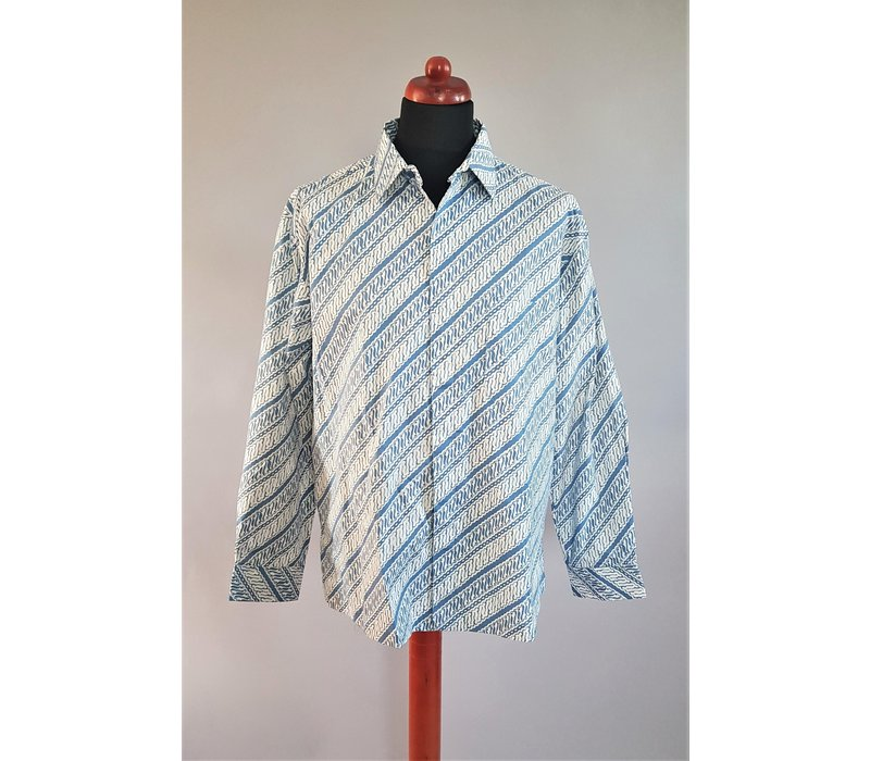 Batik overhemd lange mouw 2803-01