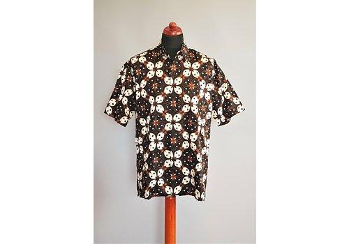 Batik overhemd korte mouw 2903-01