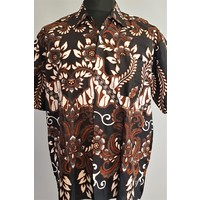 Batik overhemd korte mouw 2903-02